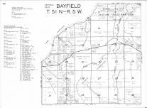 Bayfield T51N-R5W, Bayfield County 1974